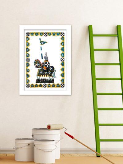 B07 Il Cavaliere del quadrifoglio 35x50
