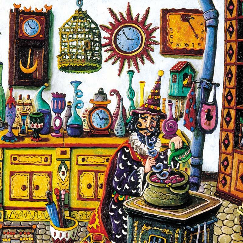 B13 la casa del mago guru guru galleria d 39 arte busellato - La casa del mago ...