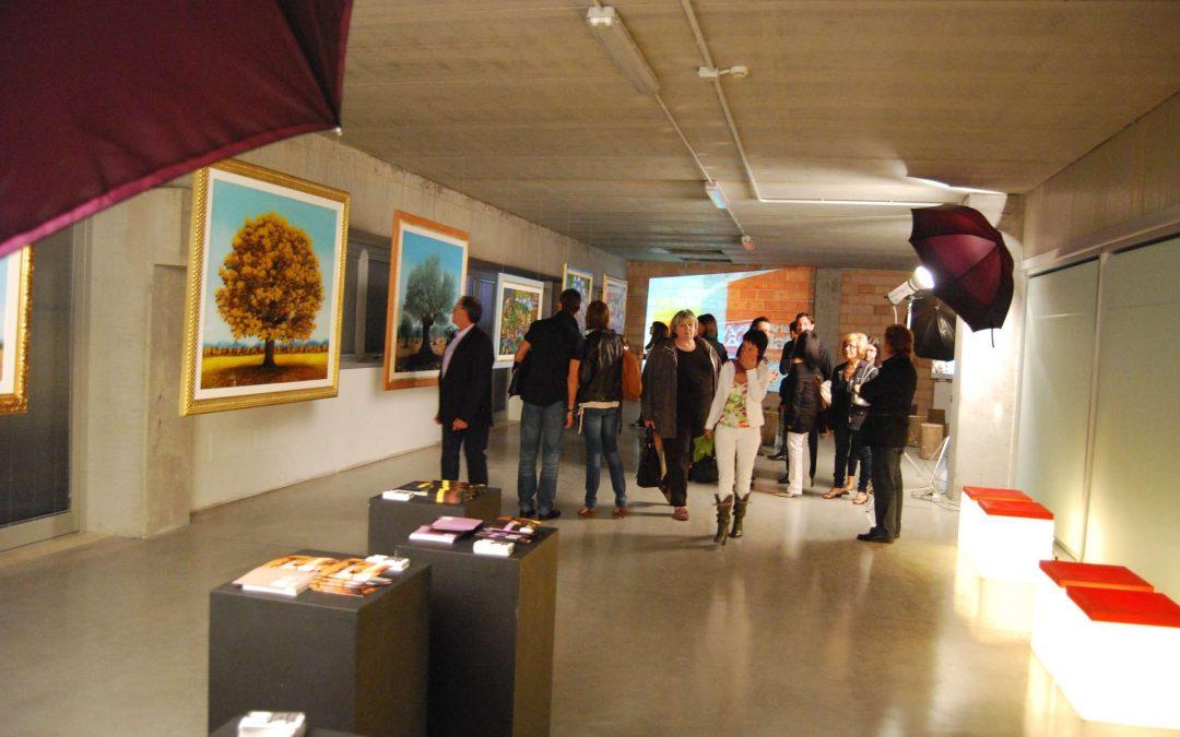 La mostra laboratorio allestita al Demeral Center di Vicenza